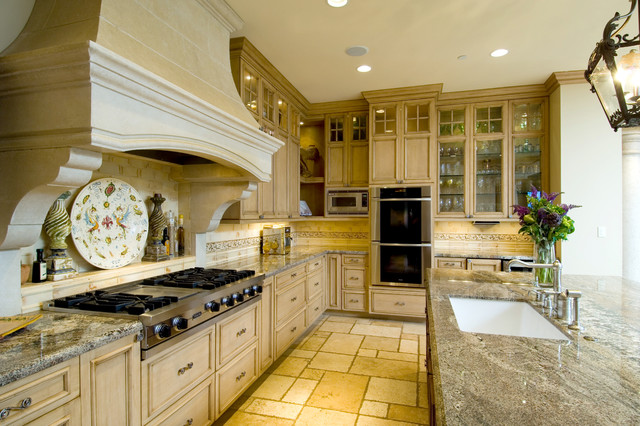 Nice Elegant Kitchen Photo In San Francisco With Granite Countertops