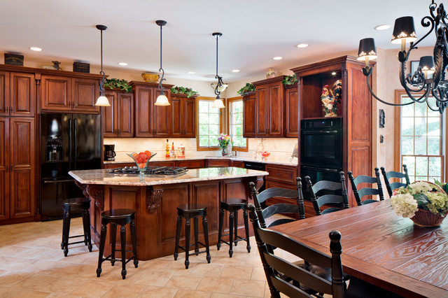 Cost To Remodel A Kitchen: Tuscan Themed Kitchen Remodel