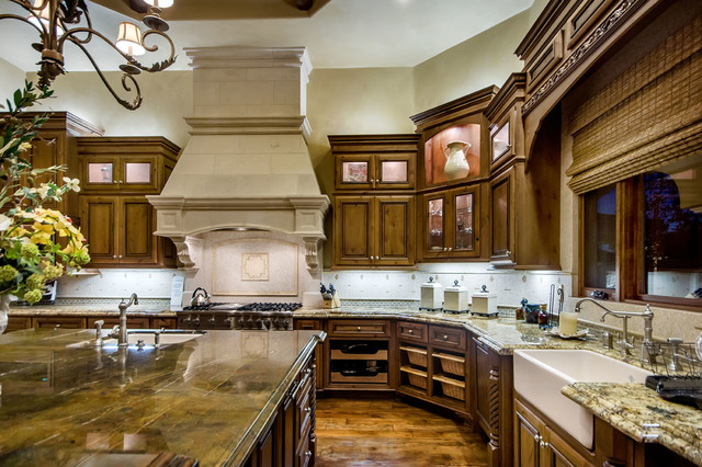 Tuscan Vineyard Estate Mediterranean Kitchen Other