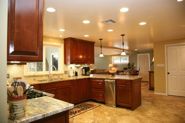 Tustin Kitchen Traditional Kitchen Other by