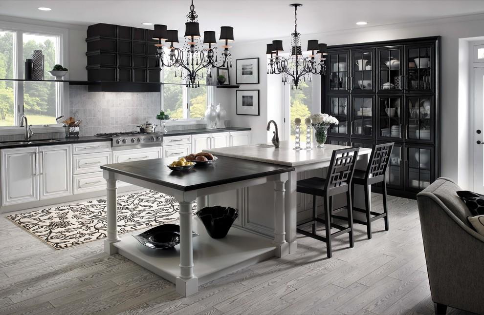 Kitchen - contemporary kitchen idea in Indianapolis
