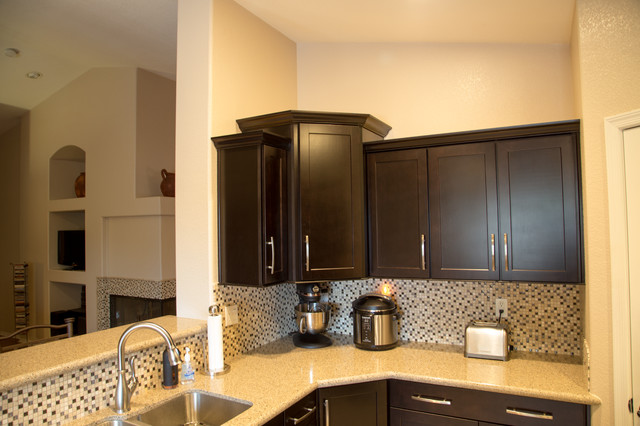 Twd Luxury Kitchen Remodel In Glendale Az Moderno Cocina Phoenix De Todd Whittaker