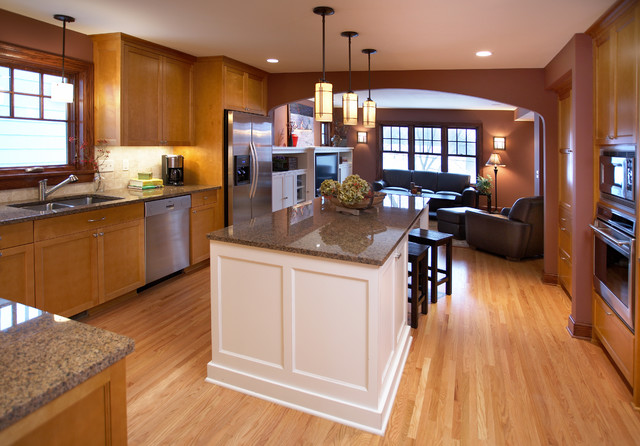Twin Cities addition traditional-kitchen