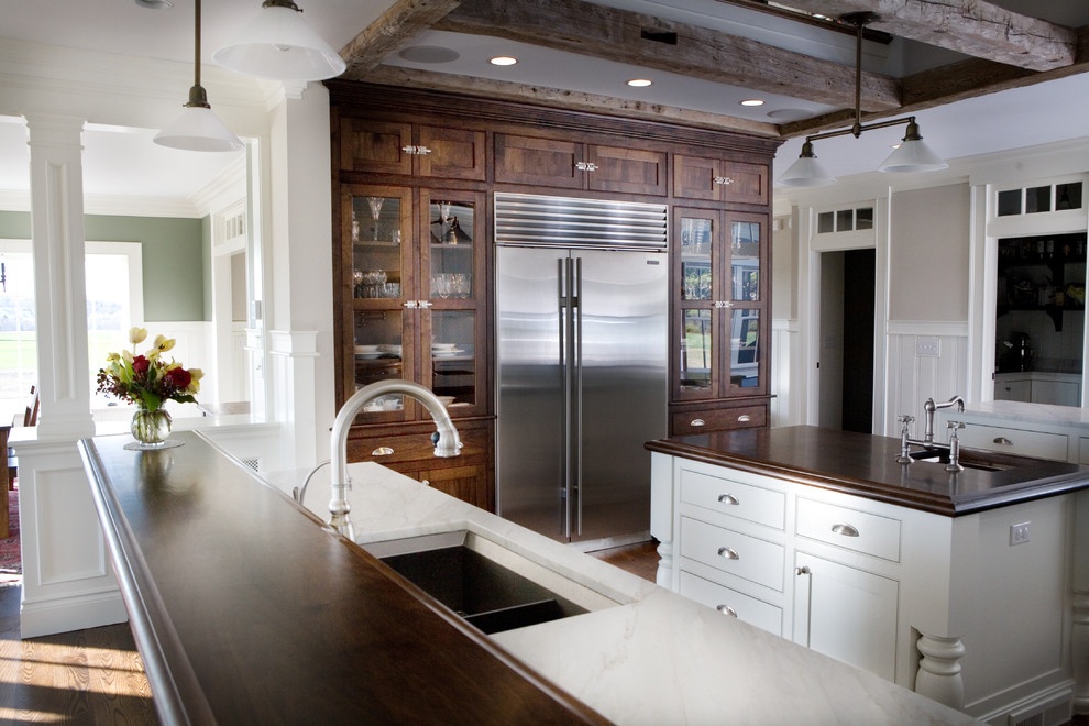 Twin Meadow - Traditional - Kitchen - Portland Maine - by ...