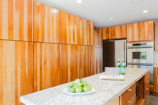 Twin Peaks Open House contemporary-kitchen