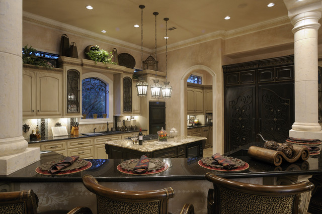 Two Dream Interiors, LLC mediterranean kitchen