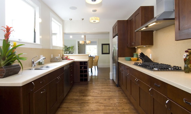 Two flats in Presidio Heights kitchen