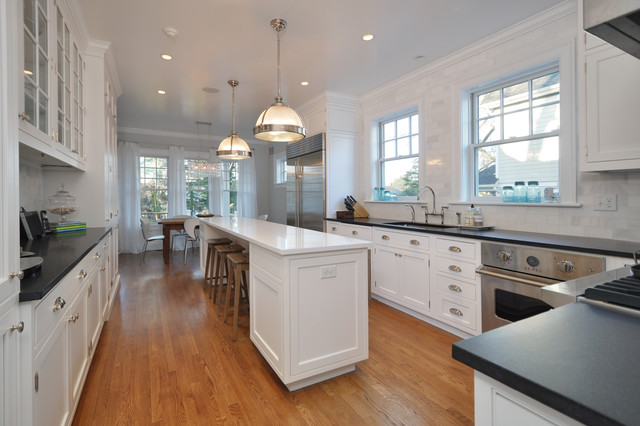 Two Story Addition Traditional Kitchen New York By Anthony James Cons