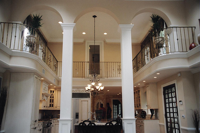 two story kitchen traditional-kitchen