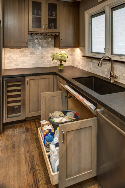 Two - Tone Craftsman Designed By: Michelle O'Connor craftsman-kitchen