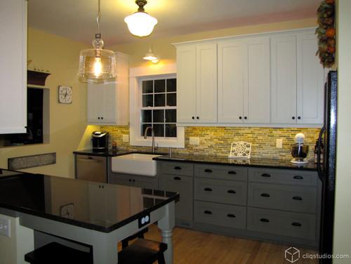 Black Granite Countertop And Cabinet Pairings Bethel Ct Rye Ny