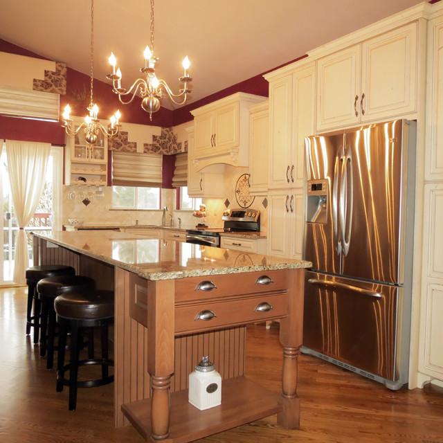 Two Tone Kitchen Remodel Littleton