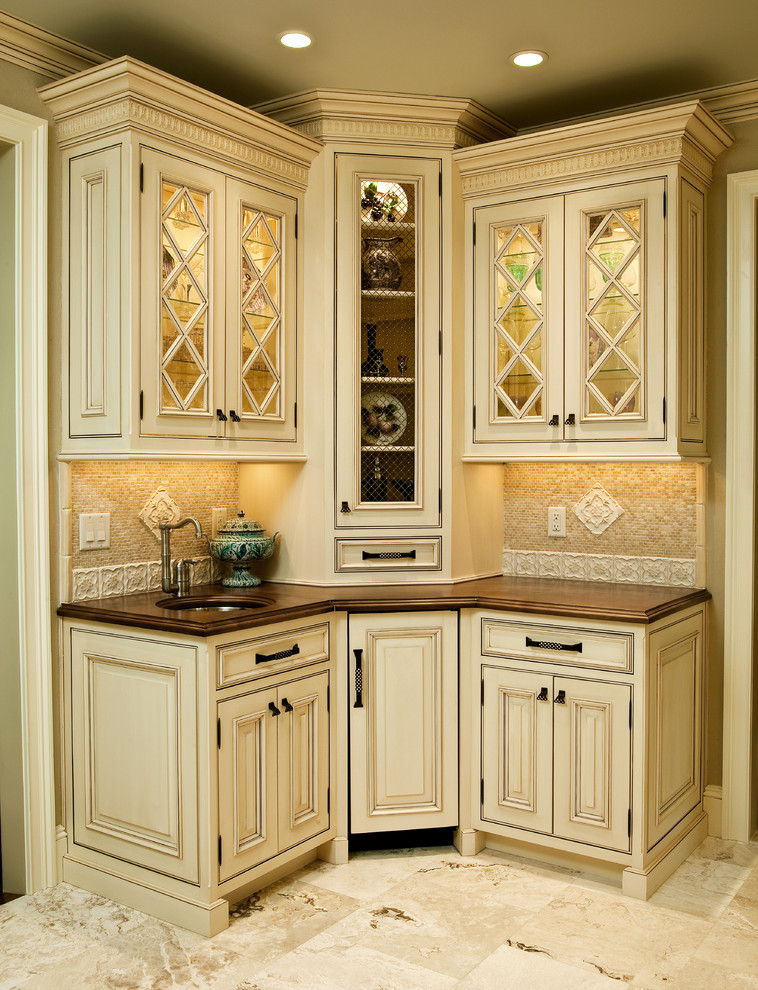 Two Tone Traditional NJ Kitchen Design - Traditional ...