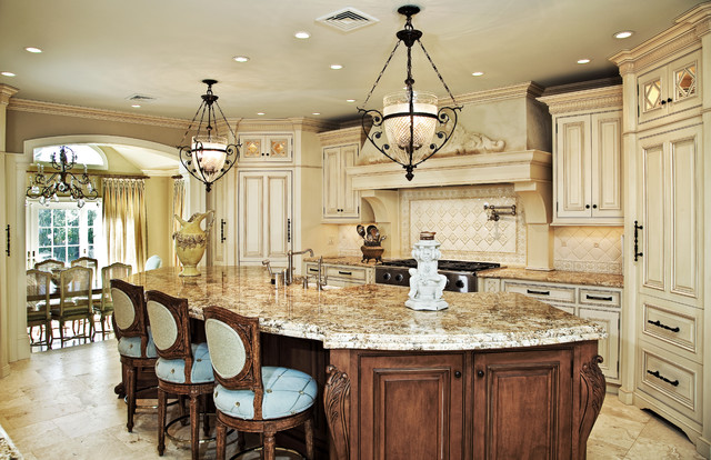 two tone traditional nj kitchen design traditional kitchen
