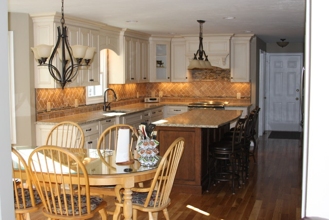 Two Toned Kitchen Remodel. traditional-kitchen
