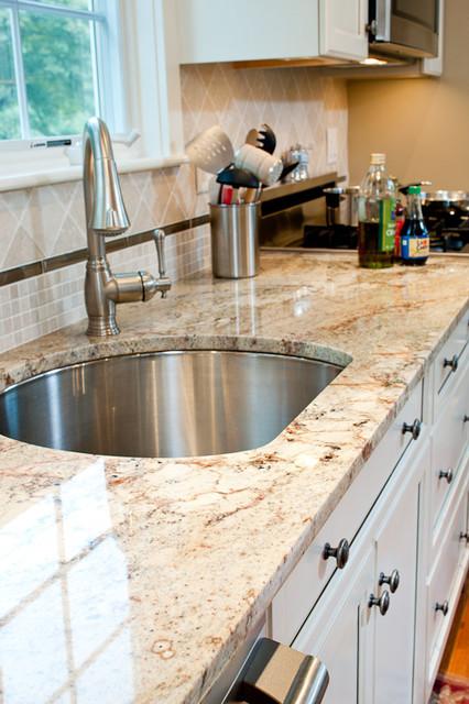 Typhoon Bordeaux Granite Countertopstraditional Kitchen Boston