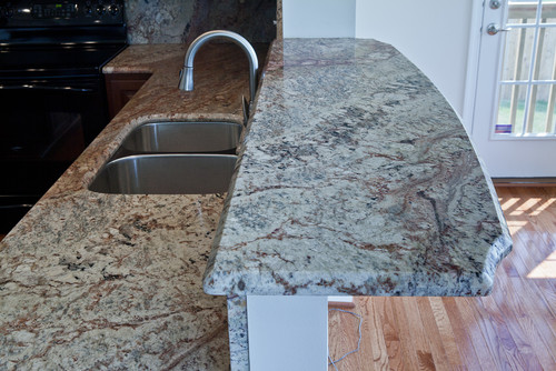 Granite Bar Top Under Support