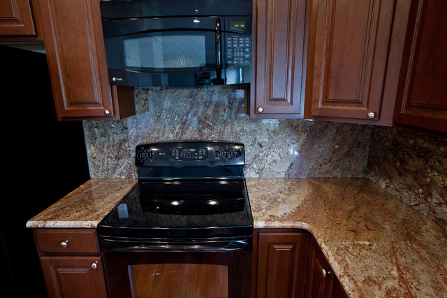 Typhoon Bordeaux Granite Traditional Kitchen Dc