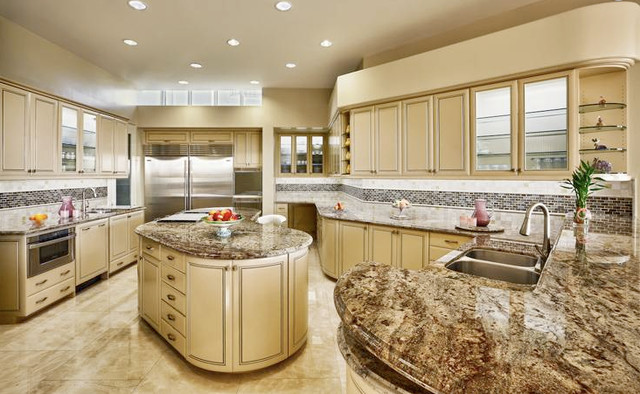 Typhoon Bordeaux Granite Kitchen Traditional Other Metro By M S International Inc