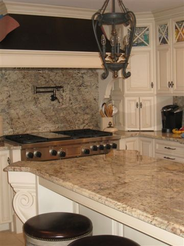 Typhoon Bordeaux Granite Traditional Kitchen
