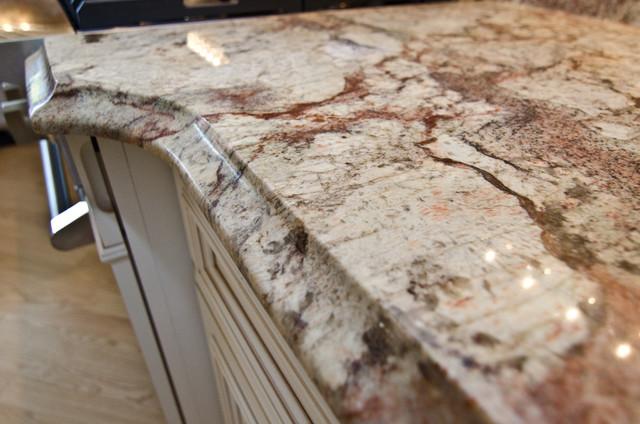 Typhoon Bordeaux Granite With Full Backsplash