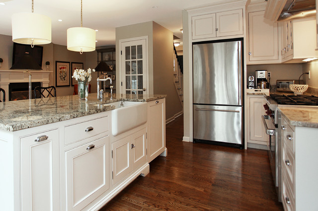 Sensational Typical 1970S Colonial Remodeld Traditional Kitchen Download Free Architecture Designs Scobabritishbridgeorg