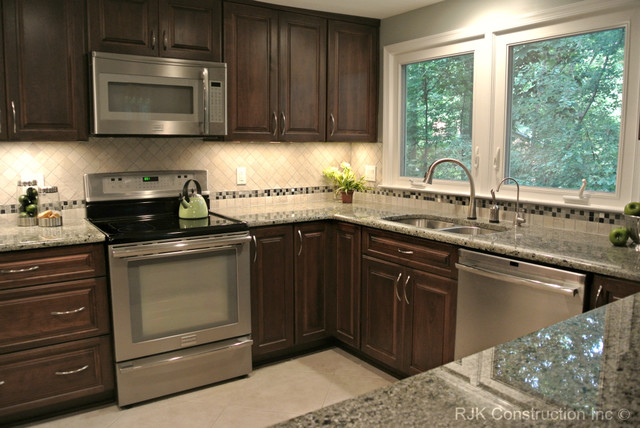 U Shaped Kitchen Remodel Before And After Impressive Ushaped Kitchen Remodel  Contemporary  Kitchen  Dc Metro . Design Inspiration