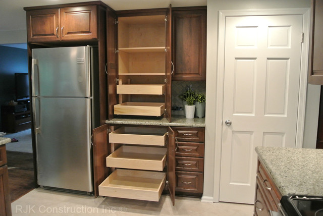 U-Shaped Kitchen Remodel - Contemporary - Kitchen - dc metro - by RJK Construction Inc