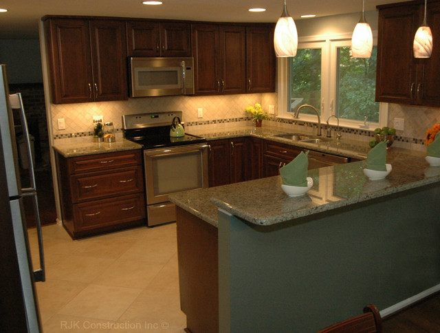 Charmant U Shaped Kitchen Remodel Contemporary Kitchen