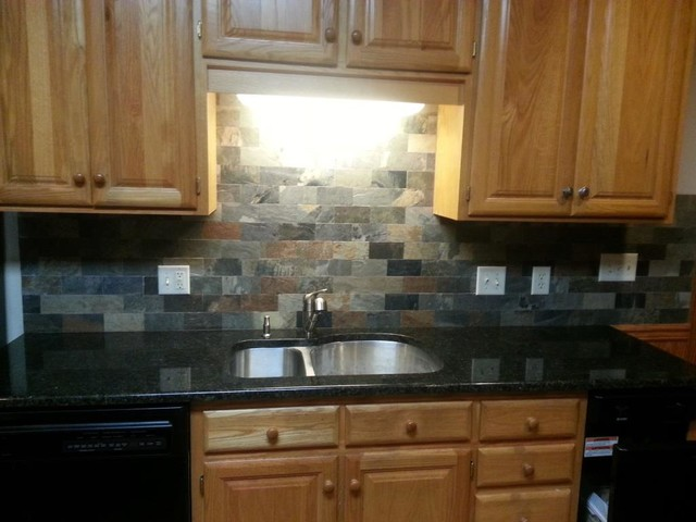 Uba Tuba Granite Countertops Traditional Kitchen Charlotte