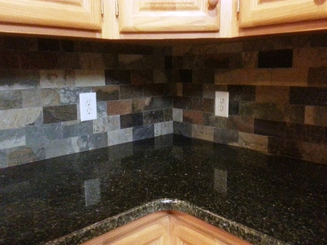 Uba Tuba Granite Countertopstraditional Kitchen Charlotte