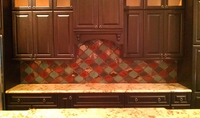 Ubkitchens San Antonio Tx Showroom Cabinet Tile Displays Traditional Kitchen Austin