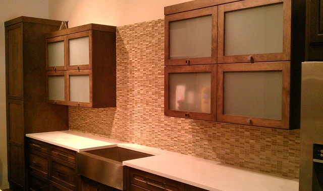 UBKitchens San Antonio, TX Showroom Cabinet & Tile Displays - Contemporary - Kitchen - austin ...