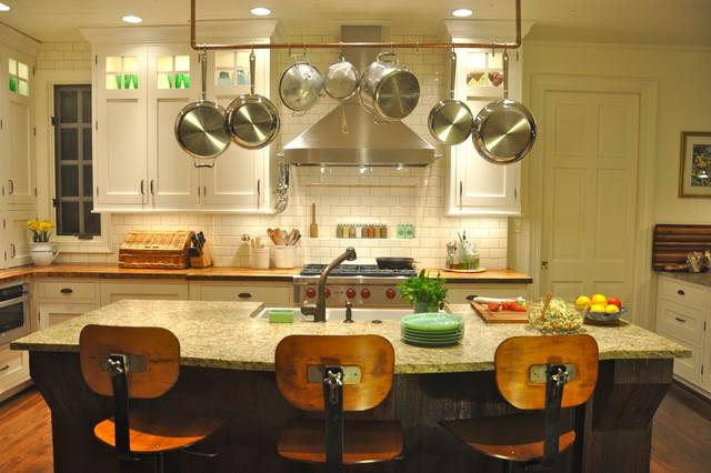 Ultimate Farmhouse Kitchen traditional-kitchen