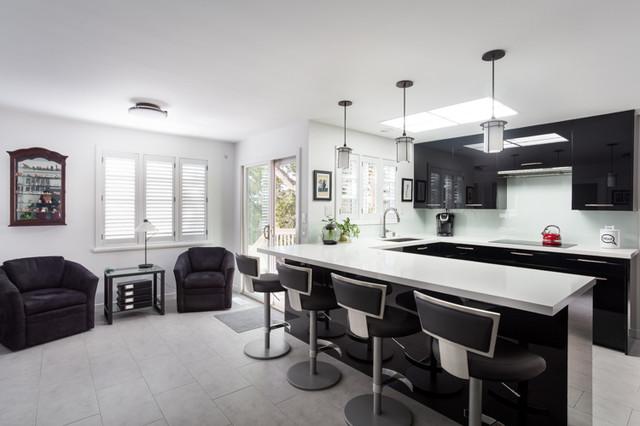 Ultra Contemporary Kitchen Remodel in Carmel-by-the-Sea, CA contemporary-kitchen