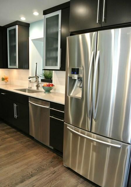 Ultra modern bertch kitchen küche dc metro von skill