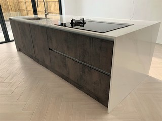 Ultra Modern Minimalist Design Contemporary Kitchen Other By Newcastle Kitchen Bedroom Co Houzz Uk