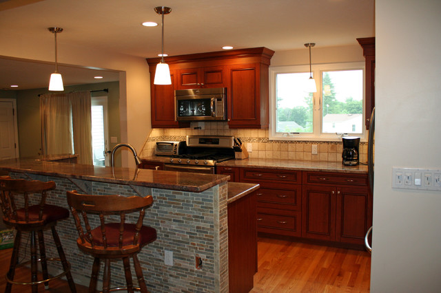 UltraCraft Vision Tuscany in Walpole, MA traditional-kitchen