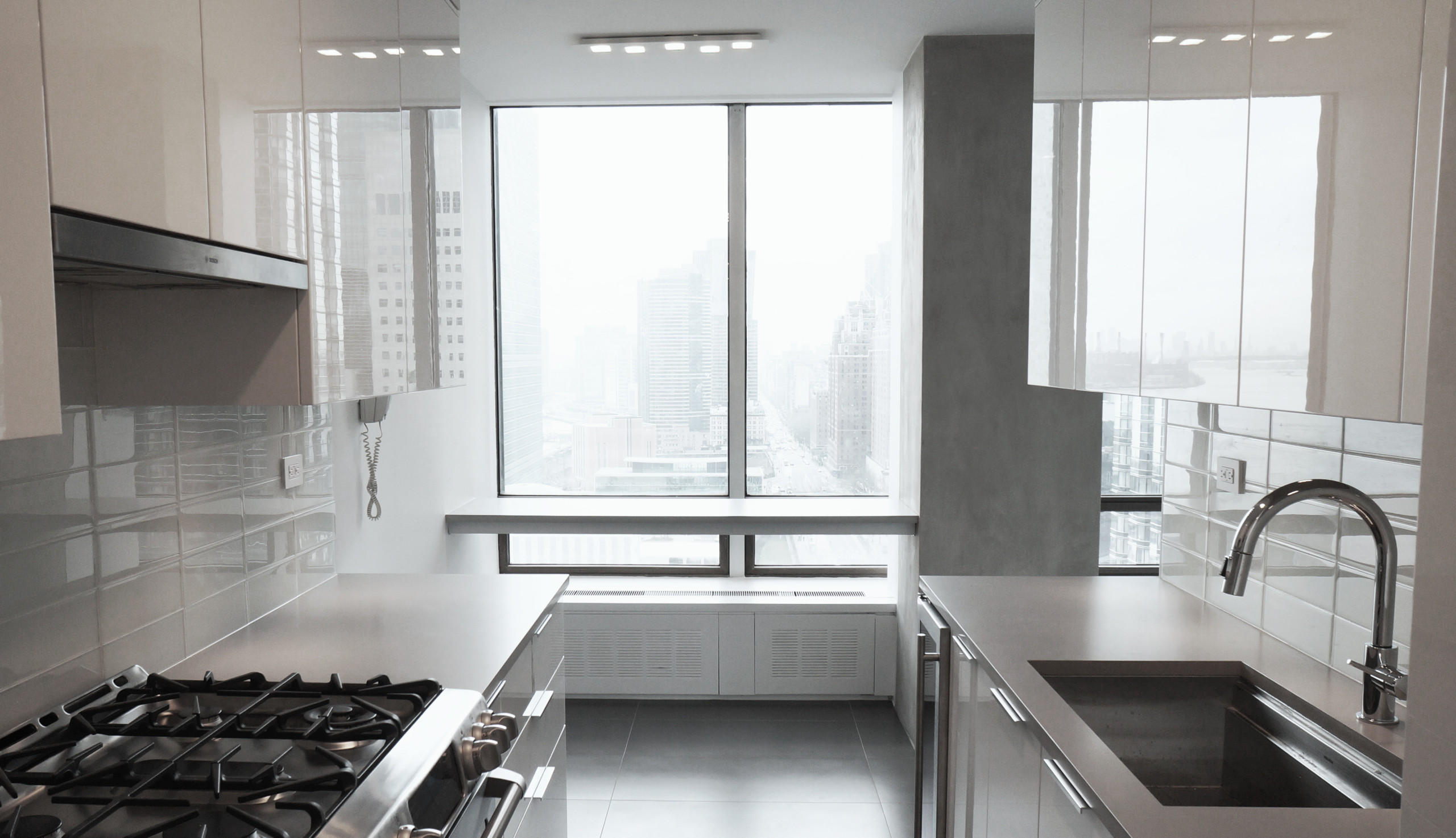 UN Plaza - Midtown East New York - Kitchen with a view