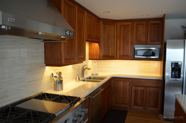Under Cabinet LED Lighting - Contemporary - Kitchen - seattle - by Solid Apollo LED