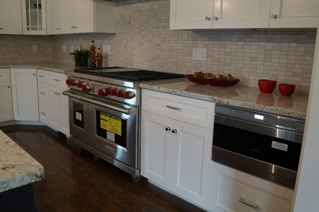 Under Counter Microwave - Transitional - Kitchen - boston - by Taylor Made Cabinets, Leominster MA