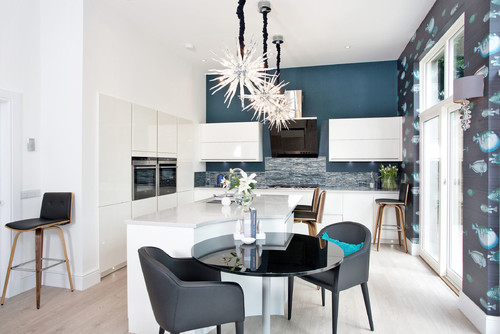 12 kitchen looks expected to be big in 2015 - Trend wallpaper dining ...