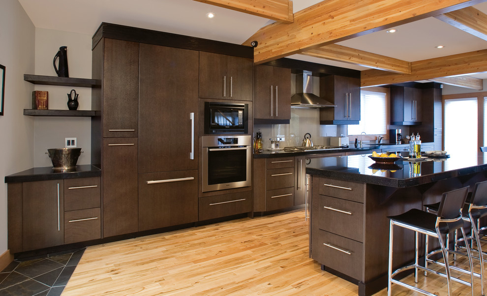 Understated Elegance - Contemporary - Kitchen - Edmonton ...