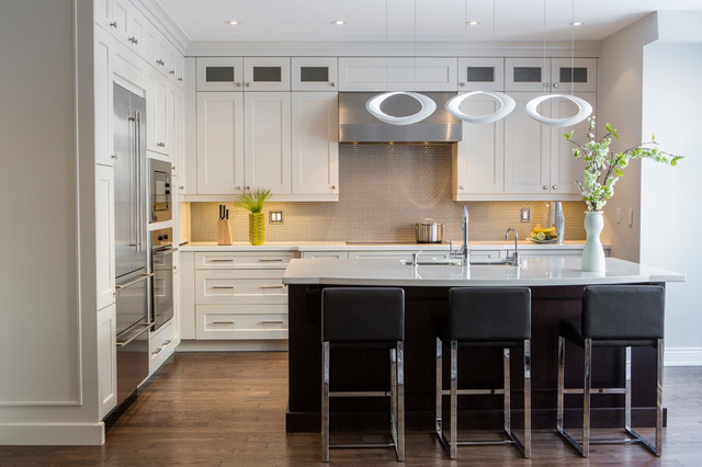 Understated Luxury Transitional Kitchen Toronto By