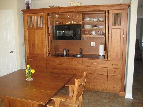 Unfitted Mini-Kitchen Armoires