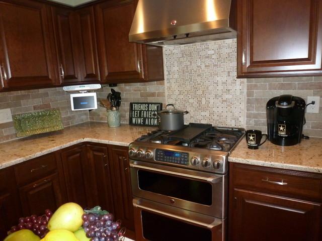 Union Square Backsplash traditional-kitchen