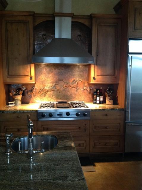 Unique Backsplashes - Transitional - Kitchen - austin - by Urban Kitchens and Baths, Inc.
