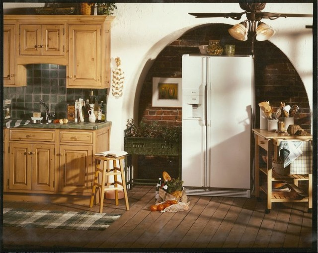 Unique Refrigerator Location Traditional Kitchen Other By Kitchen Concepts Inc