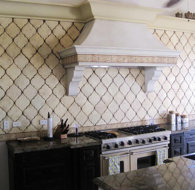 Mediterranean Tiles Kitchen: Unique Tile Mediterranean-kitchen