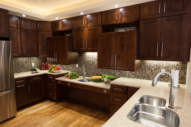 Universal design dream home transitional kitchen dc metro by decor you dc - Universal design for homes ...